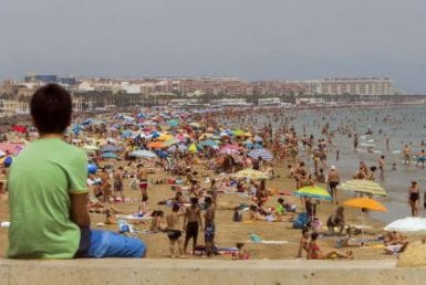 The best touristic season in Spain since July 1995