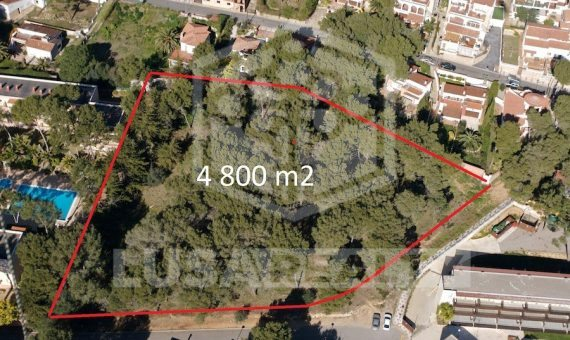 Plot of land  4.800 m2 on sale in Playa de Aro con sea views  and Permission to construct Apartotel or luxury villa | 10783-2-570x340-jpg