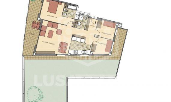Квартира в новостройке на первой линии моря в Кастельдефельс | 1486-0-570x340-jpg