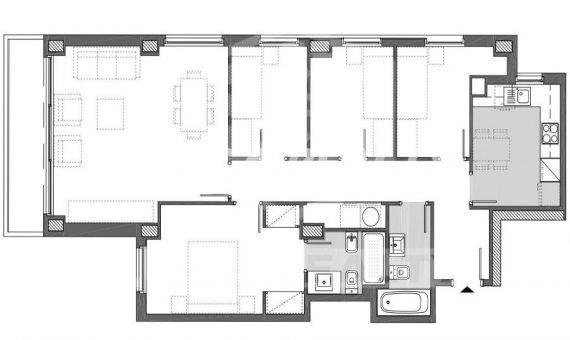 Квартира 108 м2 в новом доме в районе Монжуик / Побле Сек   1678-10-570x340-jpg