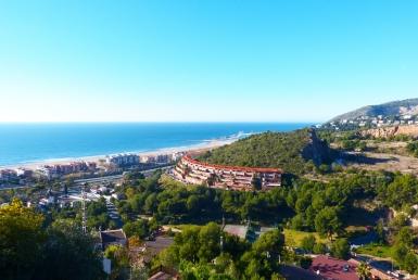 Вилла 363 м2 с панорамными видами на море в Кастельдефельсе