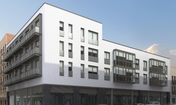 New development flats on sale in a quiete street of Sants area | 2