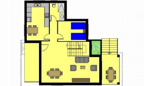 Вилла 280м2 новой постройки в Калафель | 2