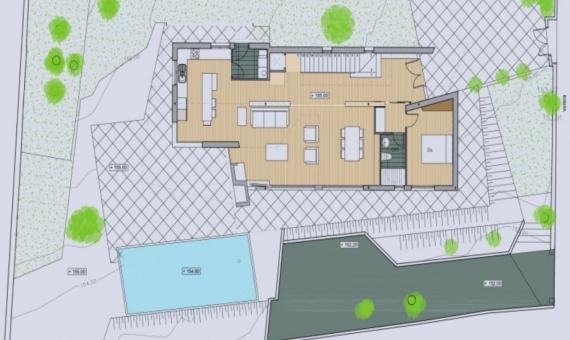 Новый дом 324 м2 в пригороде Барселоны | 2