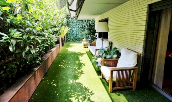 Apartment with private garden in Pedralbes | 6272-8-570x340-jpg