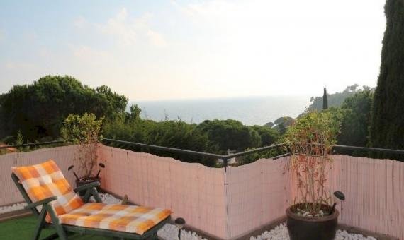 Вилла 300м2 с бассейном и видом на море в Ллорет де Мар | 3