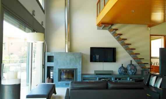 Moderno chalet en parcela de 2000 m2 en una zona residencial de prestigio en Sant Andreu de Llavaneres | 3