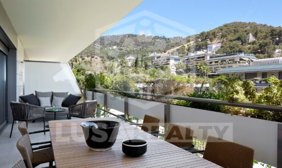 - New apartments for rent in the prestigious Sarria area, Barcelona