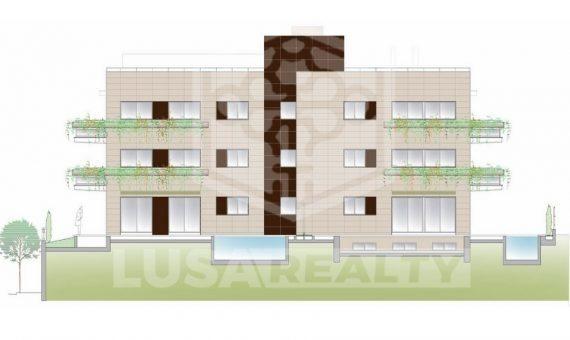 Квартиры от 105 м2 до 130 м2 в Саррия / Сан Джерваси | 2