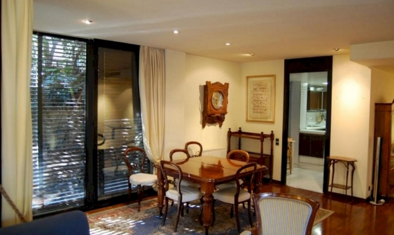 Luxury flat of 230 m2 with private garden of 230 m2 in Sarria | 1