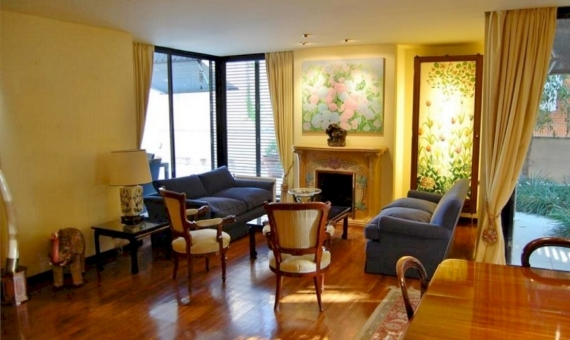 Luxury flat of 230 m2 with private garden of 230 m2 in Sarria | 3