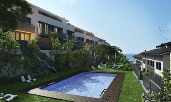 - Houses with sea views in a new residential complex in Teia