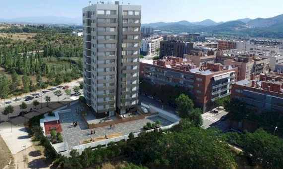 New flats in the quiet and green area in 20 km from Barcelona Center | 1-new-flats-barcelona-suburb00002-570x340-jpg