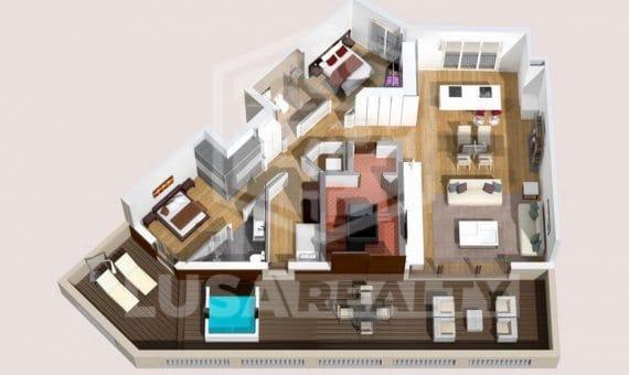 Новая квартира в центре Барселоны недалеко от Пасео де Грасия | 4