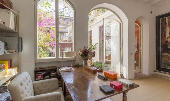 Дом с большой террасой в элитной зоне в Саррия / Сан Джерваси | 4