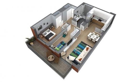 Vente de nouvels appartements dans le quartier de la Plaza España à Barcelone | 4