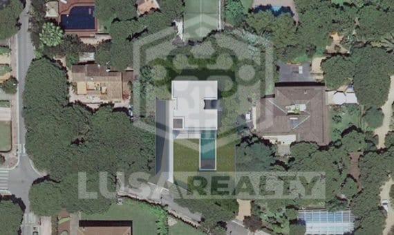 2156  Terreno con el proyecto para construir una casa de dos plantas en Gava Mar | 2