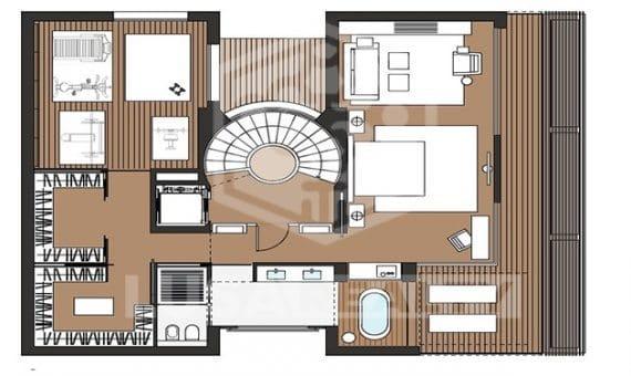 2156  Terreno con el proyecto para construir una casa de dos plantas en Gava Mar | 3