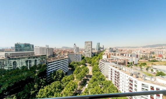 Renovated apartment with beautiful sea views on the 15th floor, in the area of Diagonal Mar | 1
