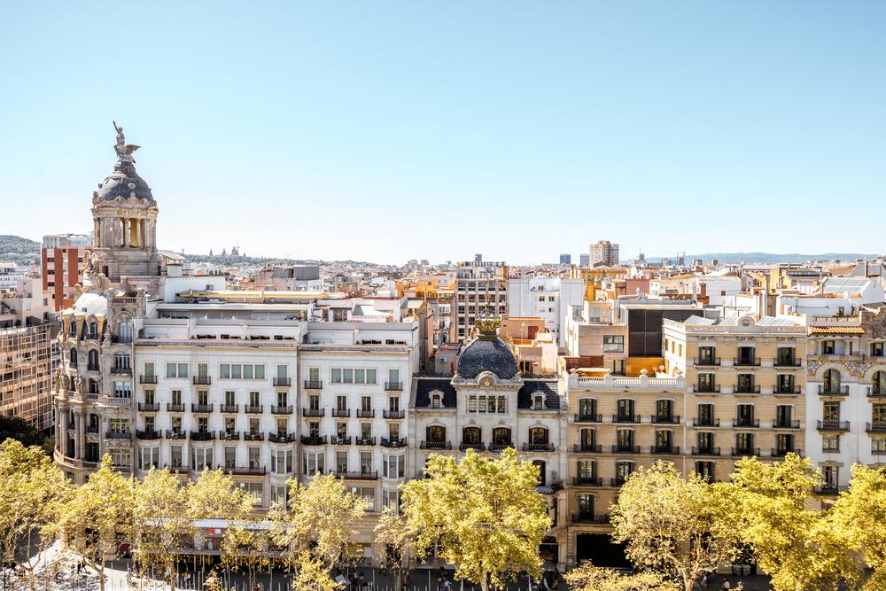 Недвижимость Барселоны падает в цене