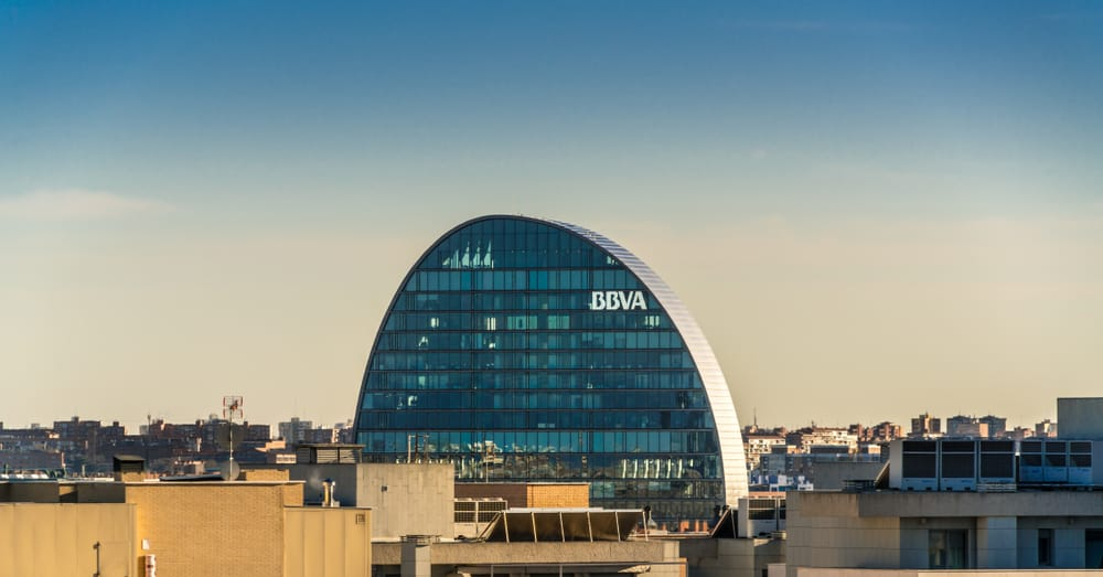 Банк BBVA в Мадриде