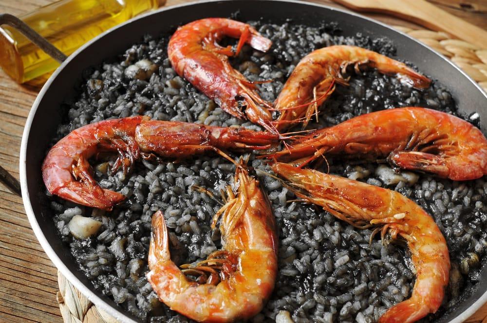 """""""Черный рис"""" типичное испанское блюдо"""