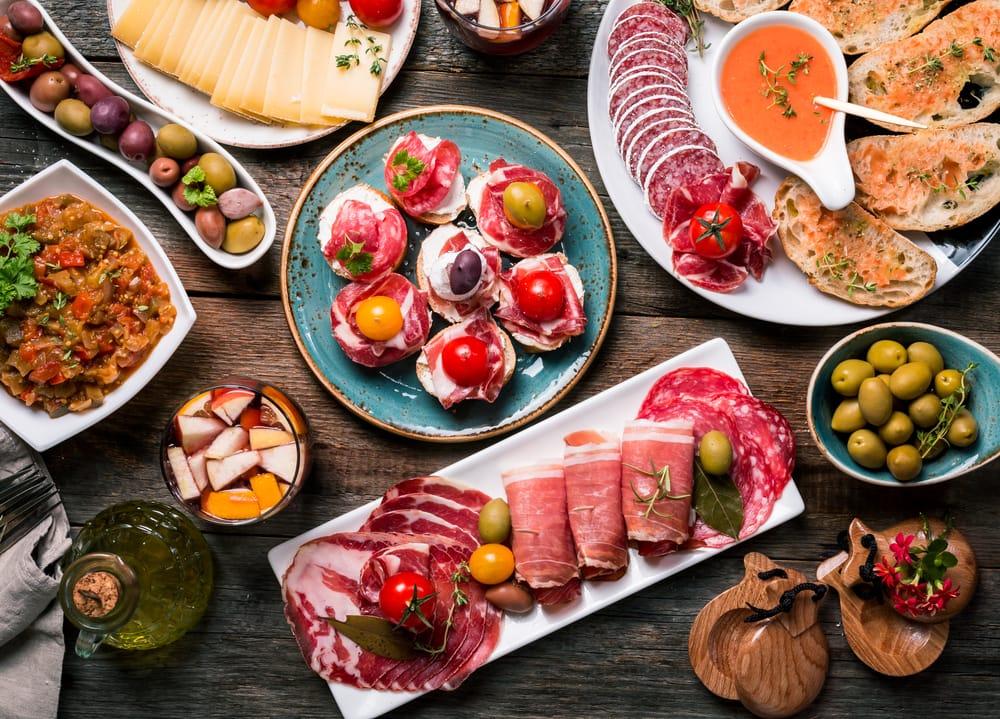 Испанский в картинках кухня, юбилею