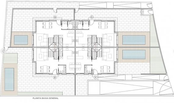 Новое строительство таунхаусов рядом с морем в Кастельдефельсе | 4