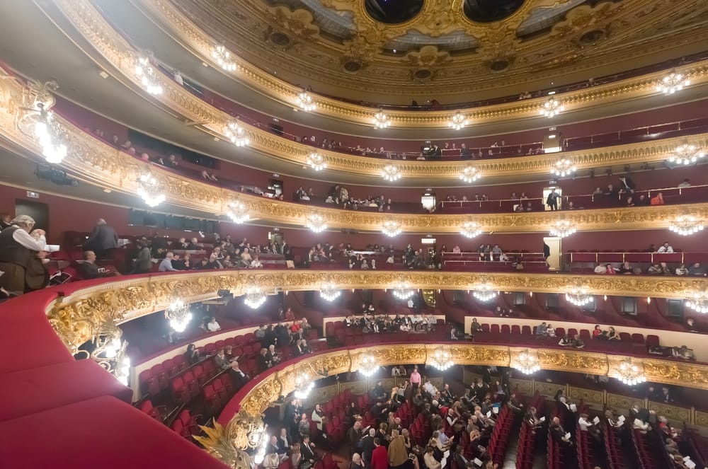 Teatro Liceu desde dentro