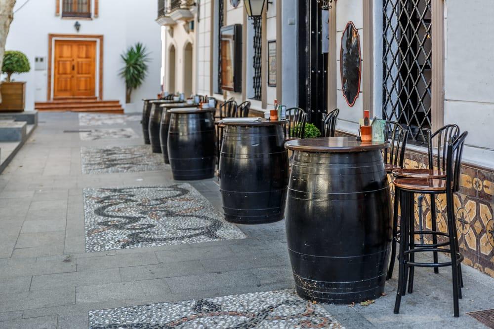 Бары и террасы в Испании
