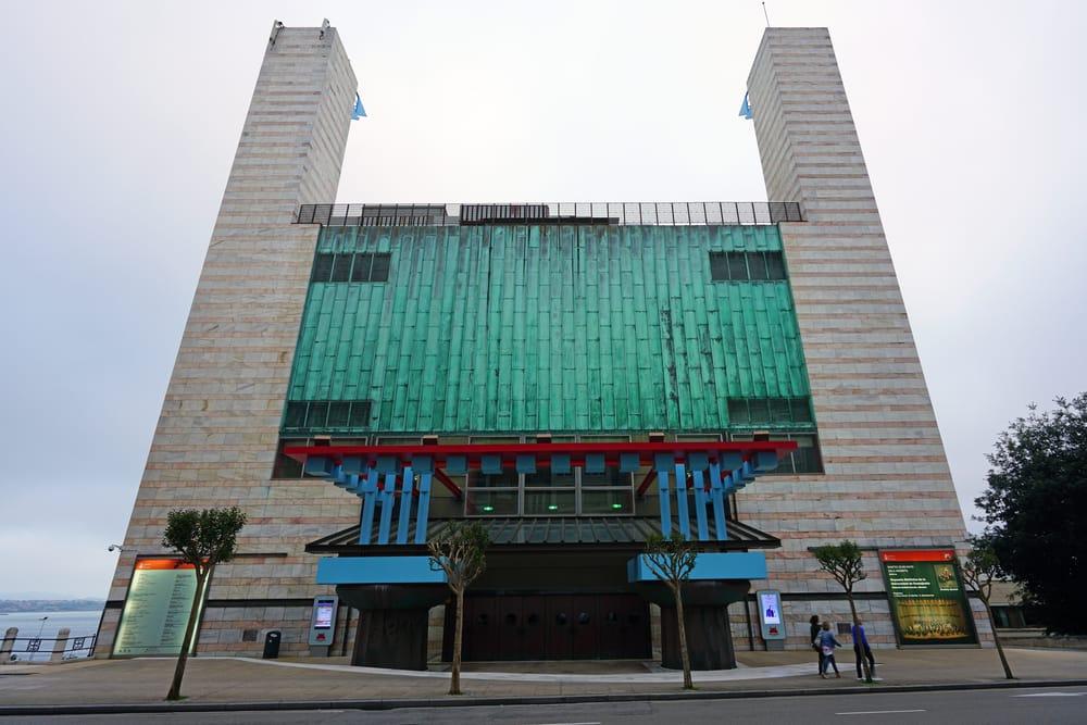 El moderno Palacio de Festivales de Santander