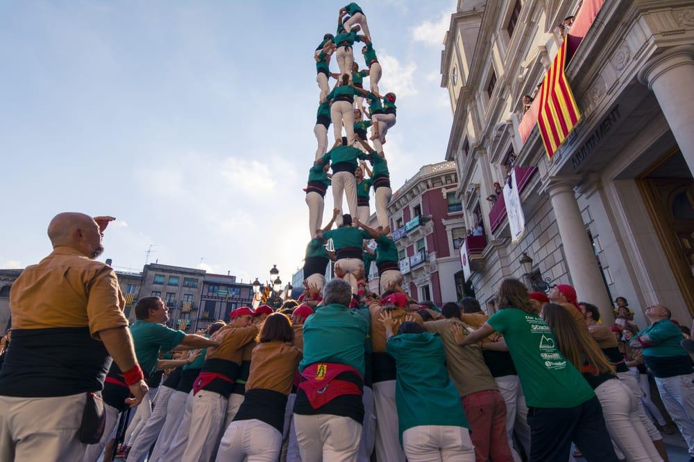 Кастельерс в Каталонии