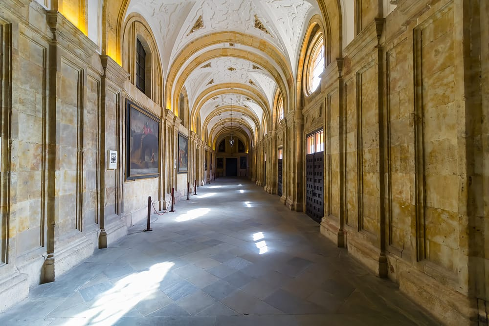 Университет Саламанки — самый древний университет Испании.