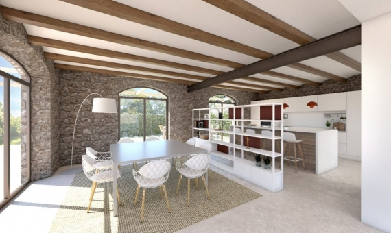 Manor in a modern style in an old town 5 km from the beautiful beaches of the Costa Brava | 4