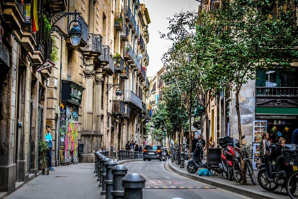 Здания в Барселоне под реставрацию