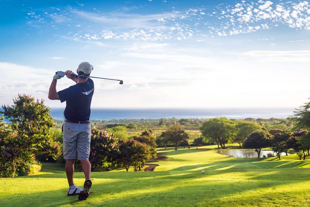 Golf con vistas al mar