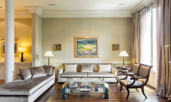 Apartment 200 m2 in modernist building in Eixample | 4