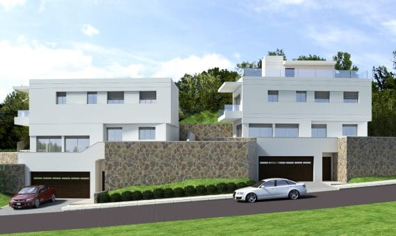 New construction homes close to the sea in Castelldefels | 1