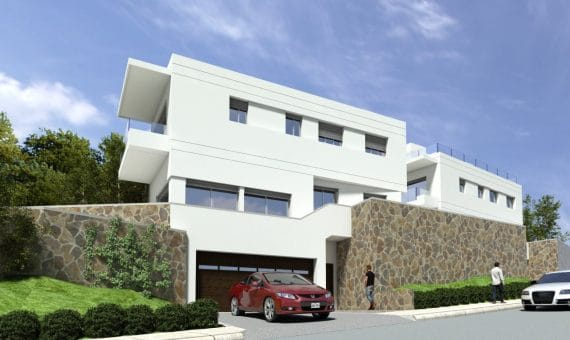 New construction homes close to the sea in Castelldefels | 2