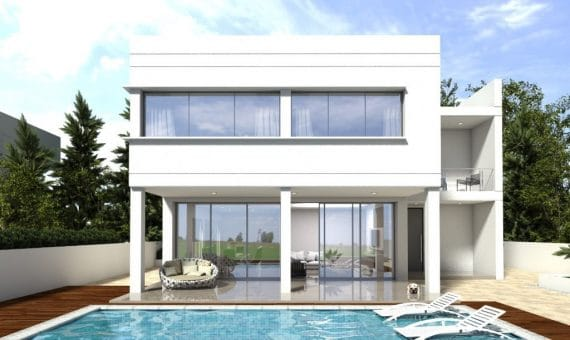 New construction homes close to the sea in Castelldefels | 00006exterior-570x340-jpg