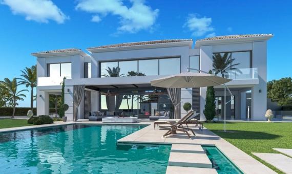 Villa 733 m2 in a contemporary style in Marbella | 1
