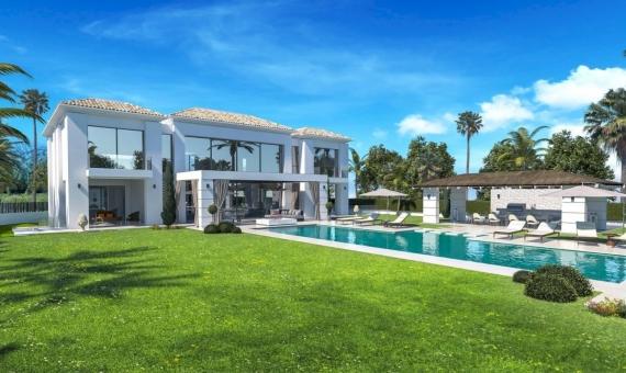Villa de 733 m2 en un estilo contemporáneo en Marbella | 4
