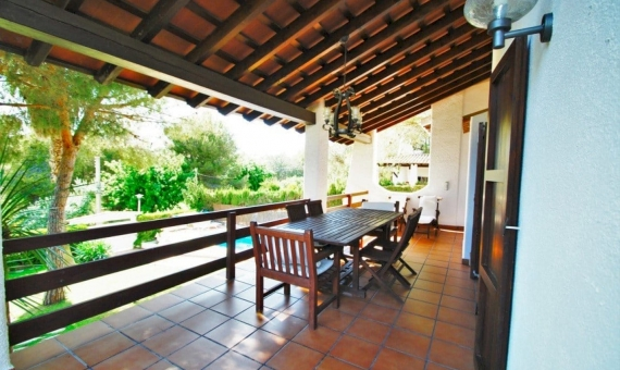 Villa 200 m2 with a garden and a pool in Roda de Bara | 4