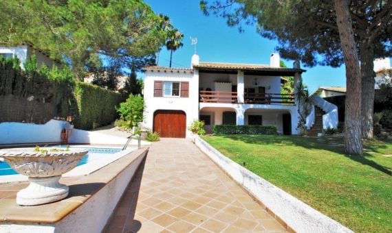 Villa 200 m2 with a garden and a pool in Roda de Bara | 1