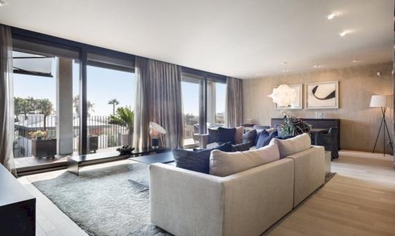 Апартаменты с террасой 24 м2 в Педральбес | 1
