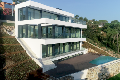New construction villas 242 m2 with sea views in Begur - 20180803 DIURNAS (5)