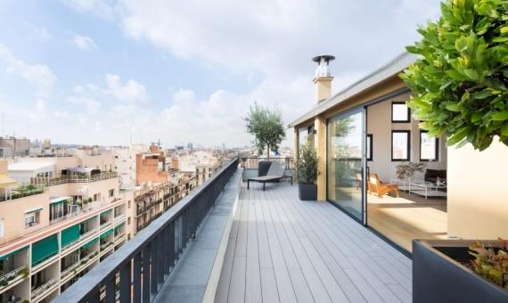 Atico recién reformado de 221 m2 con terraza en Eixample | 22-1-570x340-jpg