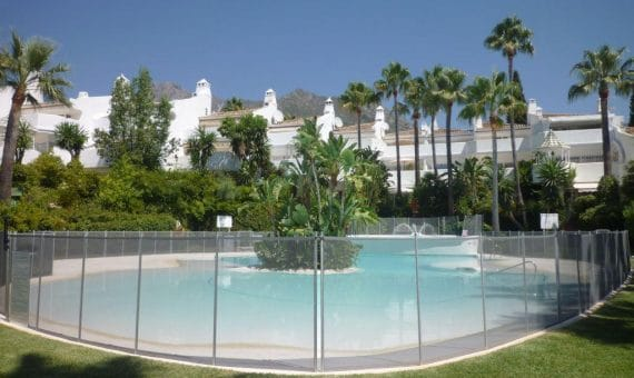 House in town in Marbella 156 m2, garden, pool, parking   | 263-00217p_3243-570x340-jpg