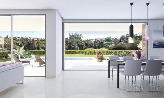 Villa en Marbella 856 m2, jardin, piscina   | 2