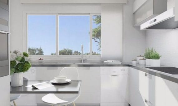 Apartment in Benahavis, Marbella, 59 m2, garden, pool, parking   | 4